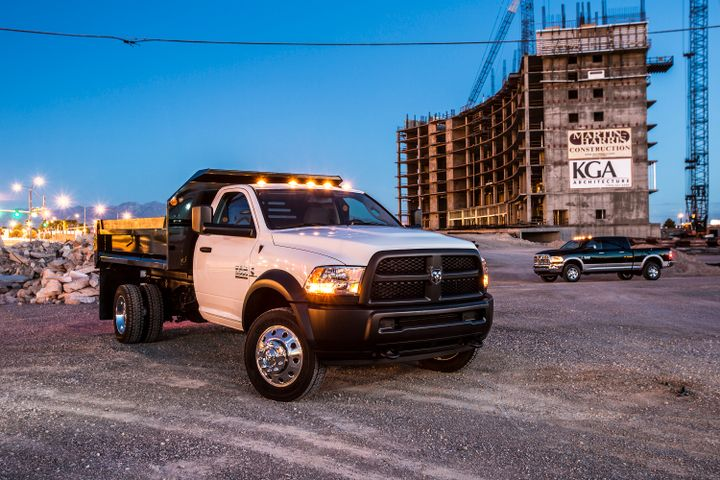 The 2018 Ram 4500 and 5500 (shown) have been recalled for brake hoses that may corrode.