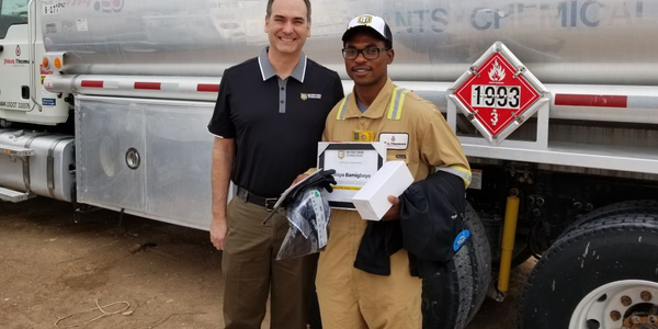 The 11 millionth lesson has been completed by Kalayo Bamigboye, a Frac Technician with Pilot...