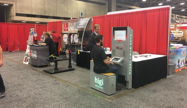 At GATS this year, higi will be providing blood pressure, weight, and BMI screenings.