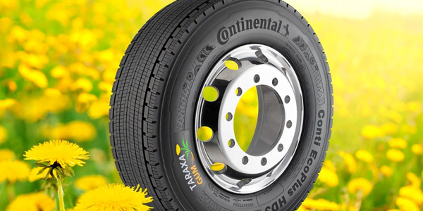 The first sample of a premium winter tire featuring a tread made from pure dandelion rubber was...