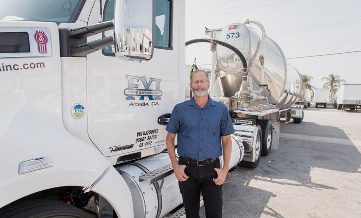 Over the past year, the utility company has helped customers such as Food Expresswith more than 400 applications for incentive funding to use for the trade in of existing diesel trucks for new natural gas ones.  - Photo courtesy of SoCalGas