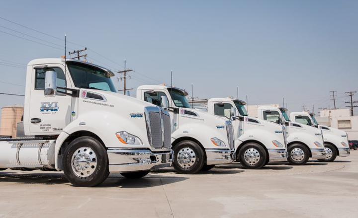 The purchase of 46 new trucks represents about 50% of FXI's California fleet.  - Photo courtesy of SoCalGas