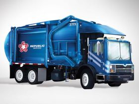 Garbage Collection Industry Benefits from Steady Truck Sales