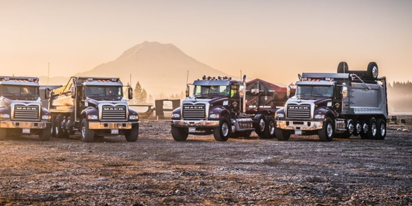 Silver Streak has built its business on hauling sand, gravel, rock,and other building materials...
