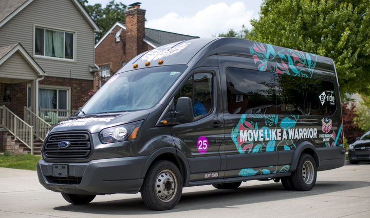 Ford Warriors in Pink® and GoRide Health are teaming up to help ensure breast cancer patients get the treatment they need by offering complimentary rides to medical appointments for the rest of 2019.  - Photo: Ford