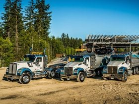 Excavation Fleet Keeps Hauling with Kenworth