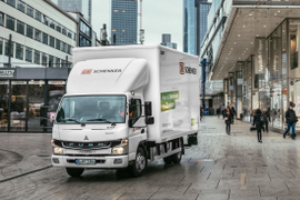 German Logistics Provider Adds Electric Fuso Cabovers