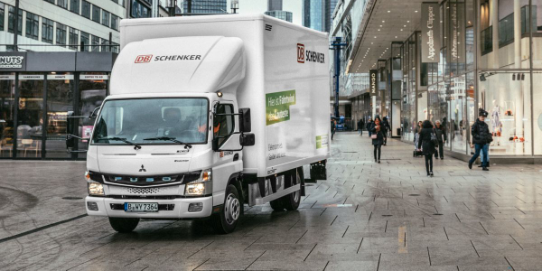 In addition to Paris, Berlin and Frankfurt, the fully electric light-duty trucks with an output...