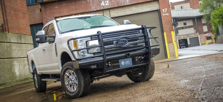 In 2016, LUVERNE joined the Wisconsin-based CURT Group family of brands and makes products for the truck, commercial van, and SUV market including front grilles for the Ford F-250.