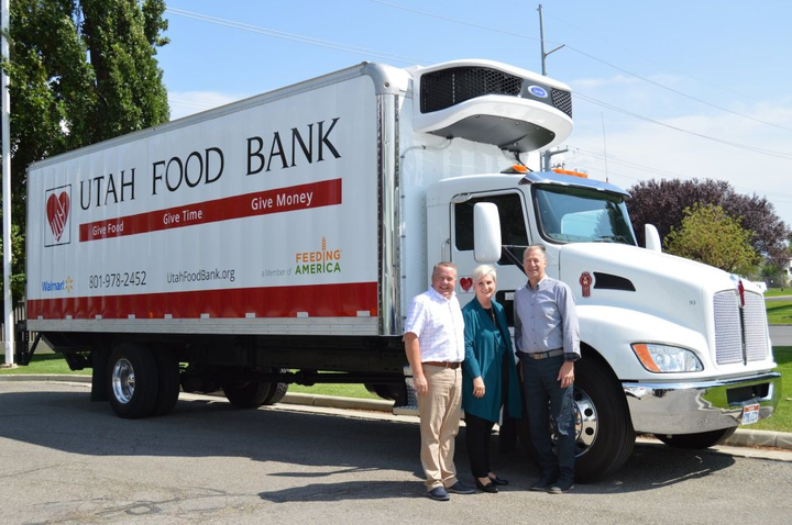 In its mission to serve the one in eight Utahns at risk of missing a meal on any given day, Utah Food Bank's 47-vehicle fleet travels enough miles in a year to encircle the earth 19 times at the equator.  - Photo courtesy of Carrier Transicold