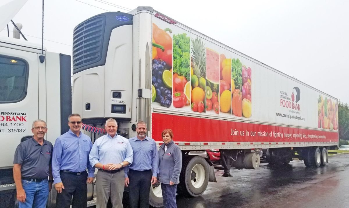 Carrier Transicold Supports Central Pennsylvania Foodbank