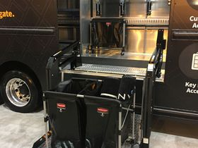 Utilimaster Showcases Curbside Liftgate
