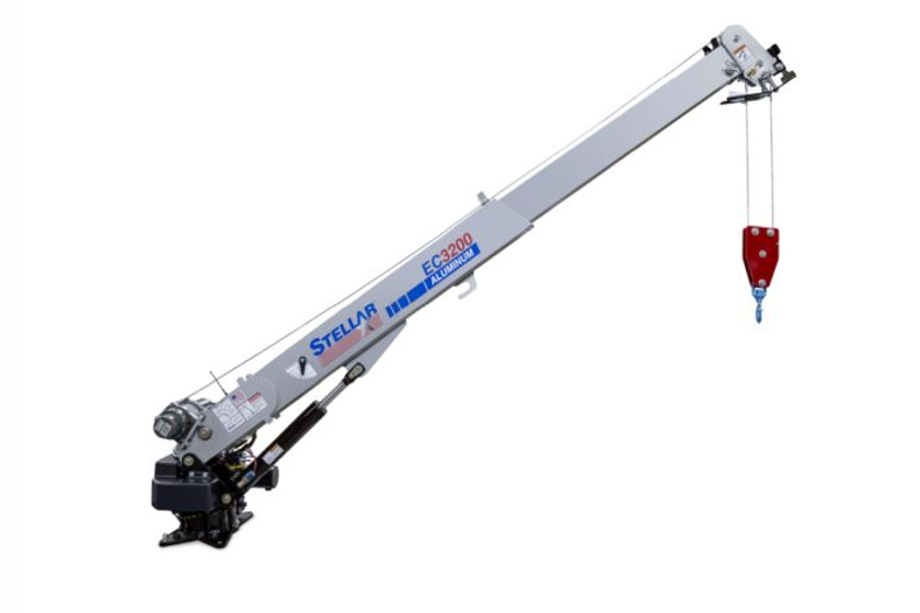 The compact StellarEC3200 Aluminum Telescopic Crane weighs just 500 pounds, which is230 pounds...