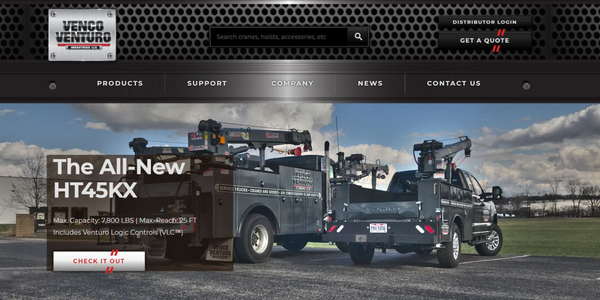 The newly redesigned website offers quick and easy access to essential product specifications,...