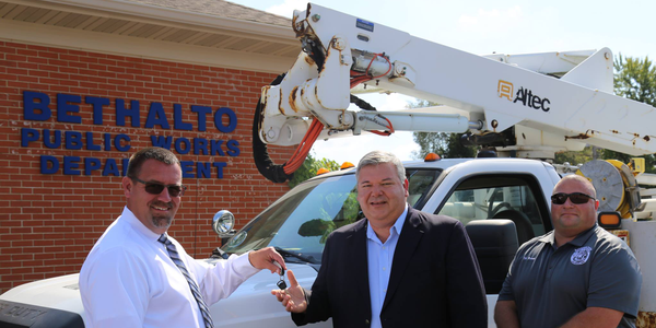 Utility Company Donates Bucket Truck to Local Village