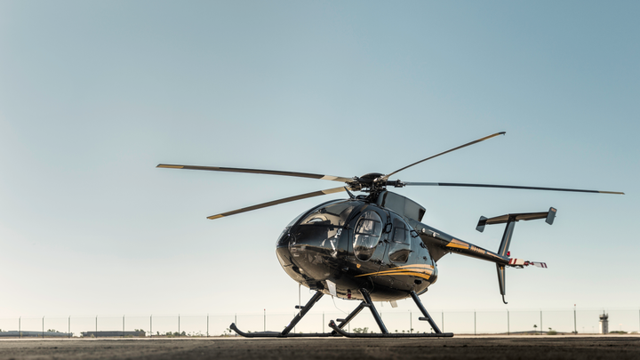MD Helicopters' 530F features an all-glass cockpit.  - Photo courtesy of MD Helicopters