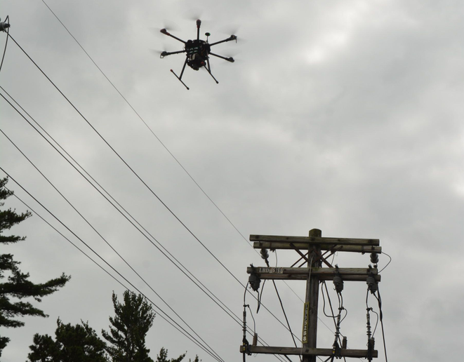 PSEG Long Island is now using drones to inspect power lines and other equipment.