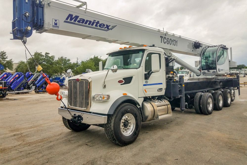 Manitex Introduces TC600 Boom Truck Mounted Crane