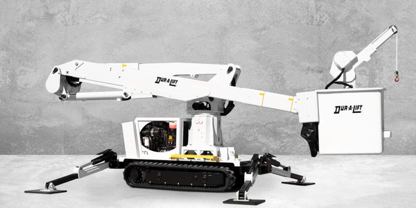 Dur-A-Lift Introduces Tracked Aerial Lift