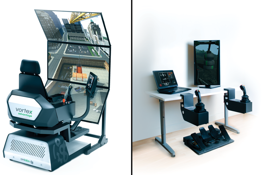The Vortex Advantage and Vortex Edge Plus simulators allow operators to train on a wide range of...