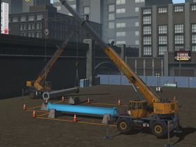 Mobile Crane Simulator Includes First Tandem Lift Exercise