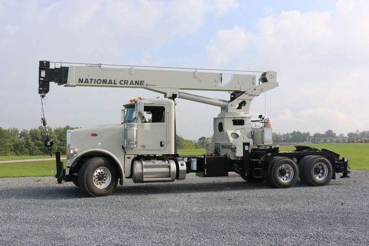 Manitowoc Cranes will display three models, including the National Crane NBT30H-2 TM (pictured).