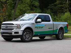 Atlanta Gas Light to Test Adsorbed Natural Gas on Trucks