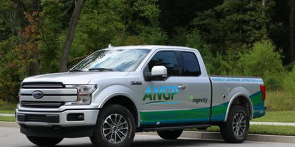Atlanta Gas Light is testing trucks that run on adsorbed natural gas.