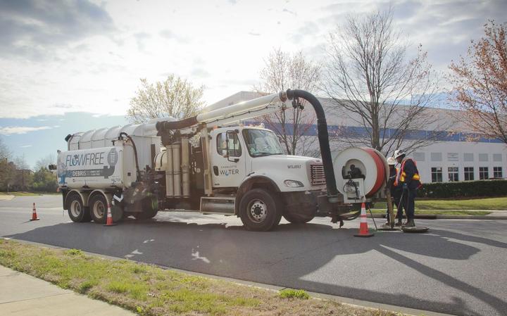Charlotte Water is piloting renewable diesel in 34 of its fleet trucks.  - Photo courtesy of REG