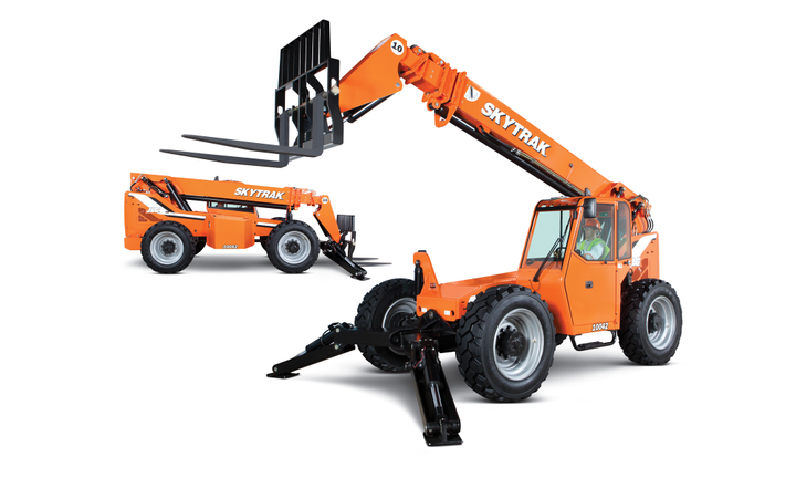JLG's new Positive Air Shut Off system will be available on its telehandlers.