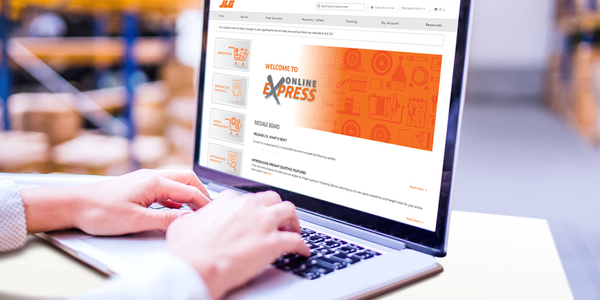 JLG Launches Online Express Parts Ordering