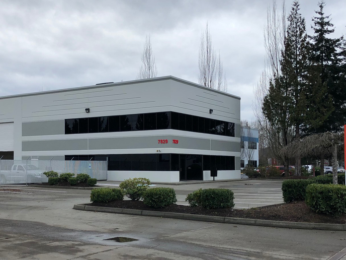 Terex relocated its Seattle service center to nearby Kent.