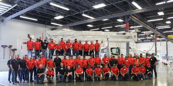 Terex Utilities Service School offers hands-on training for equipment operators.