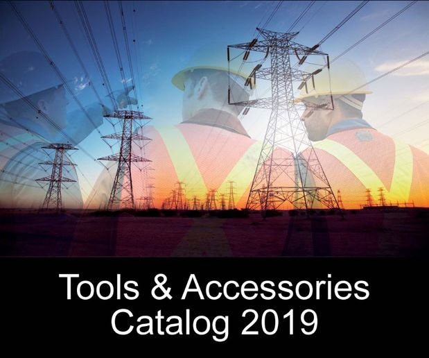 The tools and accessories catalog includes hundreds of commonly used products by the utility, telecom, and tree care industries.  - Screencap courtesy of Terex