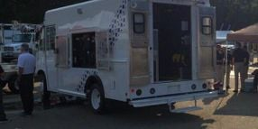 Utilimaster Showcases Walk-In Van for Electric Company