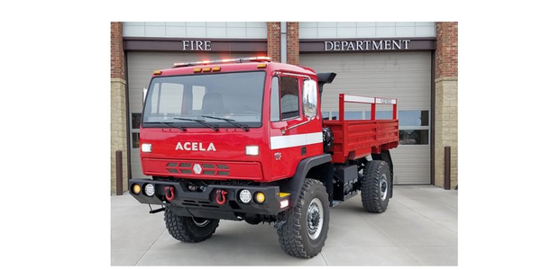 Acela's specialized flood rescue variants are capable of fording a whopping 50 inches of water....