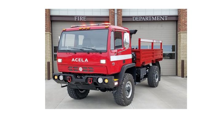 Acela's specialized flood rescue variants are capable of fording 50 inches of water. 
