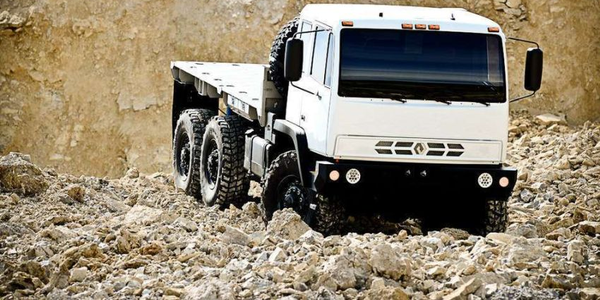 The Acela Monterra is offered in 4x4 and 6x6 configurations.
