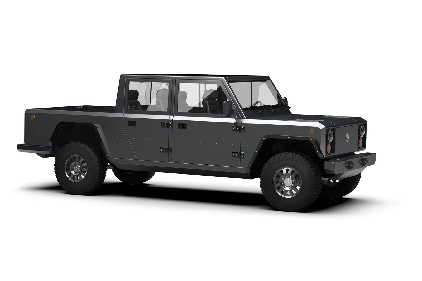 Bollinger Unveils B2 Battery-Electric Pickup