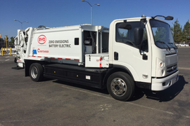 Utah Clean Cities Shows BYD Refuse Truck
