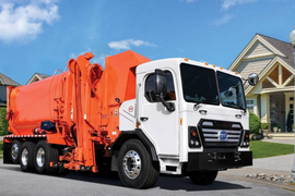 BYD Refuse Truck Delivered to Calif. City