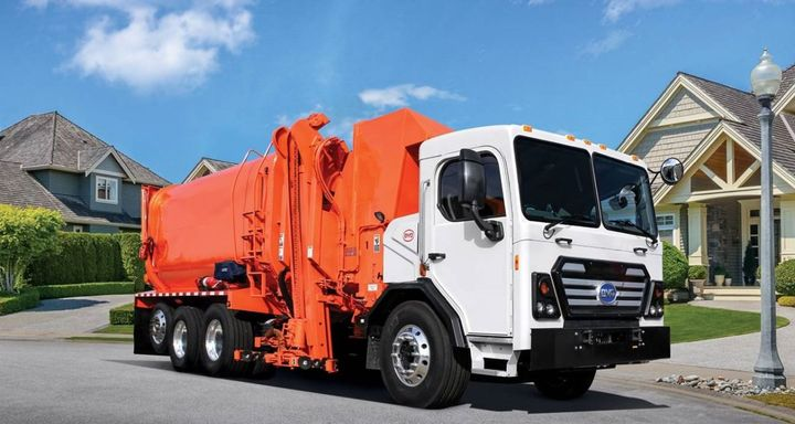 In addition to the first BYD 8R recently delivered to Waste Resources, the company has placed orders for three additional units including another 8R Class 8 and two 6R Class 6 Electric Refuse Trucks.  - Photo courtesy of BYD