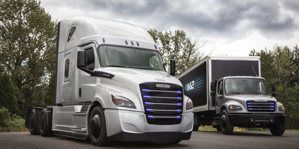 Starting late 2018, Penske will begin taking delivery of 10 eCascadias and 10 eM2s for use in...