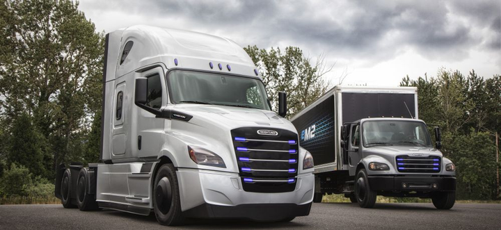 Starting late 2018, Penske will begin taking delivery of 10 eCascadias and 10 eM2s for use in California and the Pacific Northwest, while 10 eCascadias will begin being delivered to NFI for drayage activities from the ports of Los Angeles and Long Beach to warehouses in California's Inland Empire.