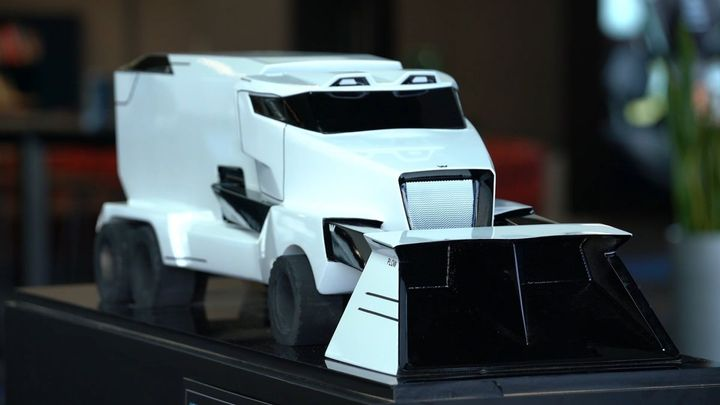 A snow plow design from Western Star's Vocational Truck of the Future design challenge.  - Photo: Western Star