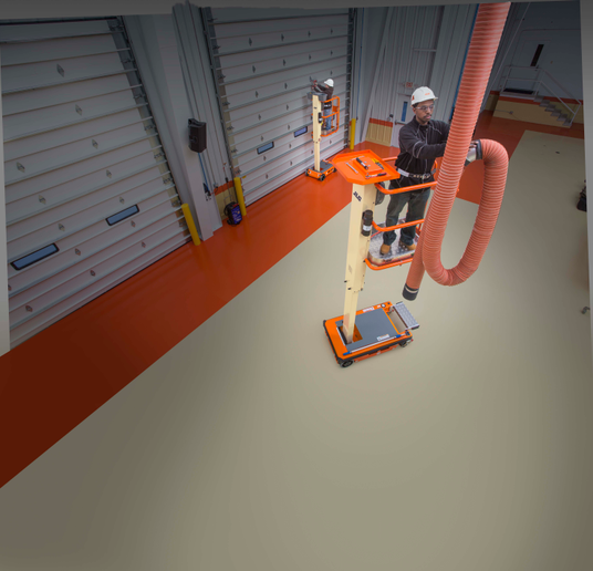 Photo of the EcoLift courtesy of JLG