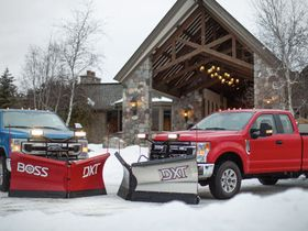 Ford Snow Plows Deliver 1,400-Pound Max Rating