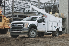 Ford's F-550 Wins Commercial Truck of the Year