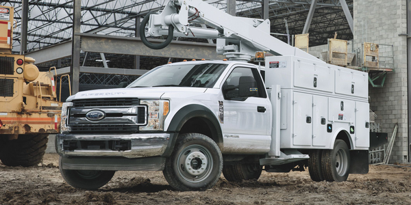 Ford's F-550 was named the 2019 Commercial Truck of the Year by Work Truck magazine readers.