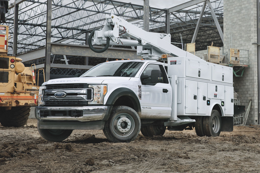 Ford's F-550 was named the 2019 Commercial Truck of the Year byWork Truckmagazine readers.